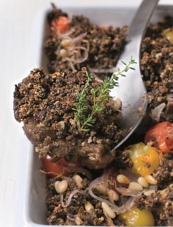 Crumble d'agneau st george à la provençale TerroirEvasion.com