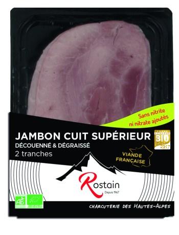jambon bio Rostain