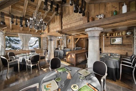 La Bouitte - Relais et Châteaux - Salle du restaurant