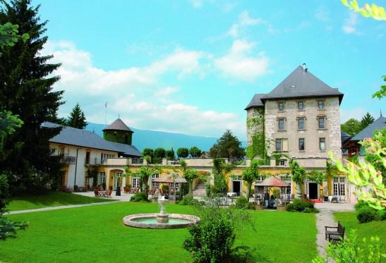 Chateau de Candie façade Chambéry Savoie