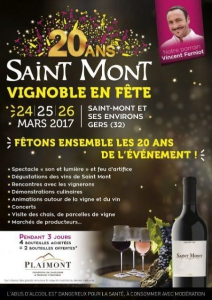 Saint Mont gers 2017 Affiche