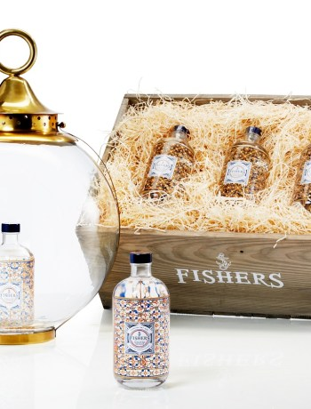 Gin Fisher-bouteilles