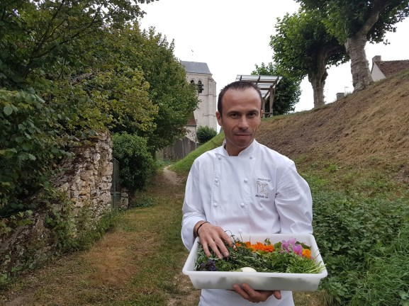 Christophe Hay cueillette potager Maison d'à coté