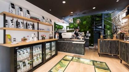 Café Caron Boutique- interieur service