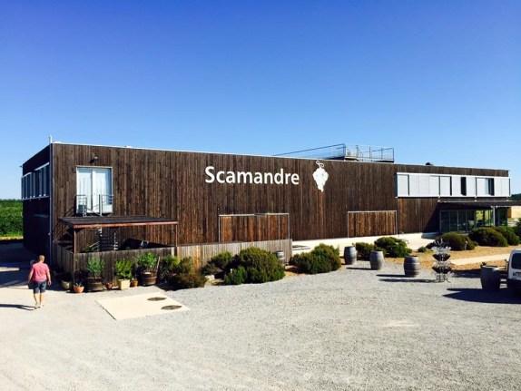 Scamandre Domaine Renouard - Chais cuverie