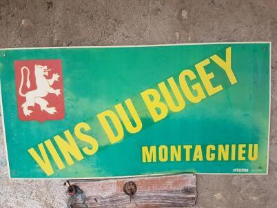 Montagnieu panneau Ain Bugey