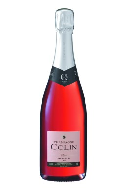 Champagne rosé Colin premier cru saint valentin