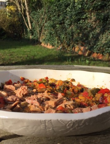 Comptoir Azur Salade Mechouia thon