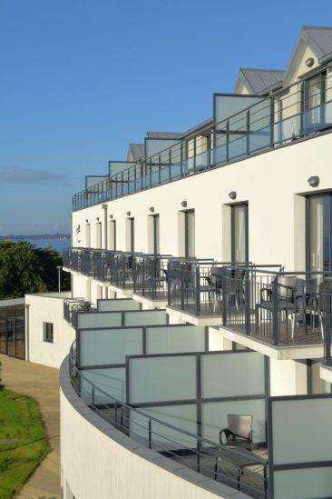 Concarneau Thalasso chambre vue terrasse ext