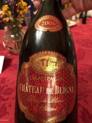 Bligny Champagne Blanc de blancs millésimé