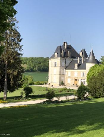 Bligny Chateau jardin- Terroir Evasion