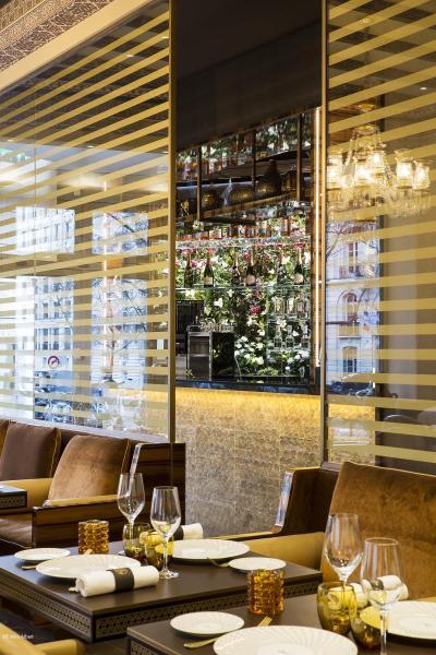Maison Noura salle vitre cuisine