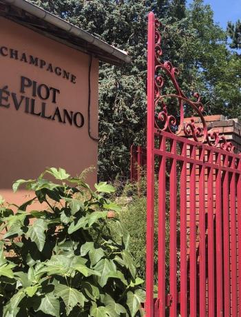 Piot Sevillano champagne Entrée