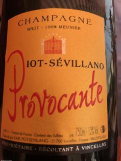 Piot Sevillano champagne Provocante