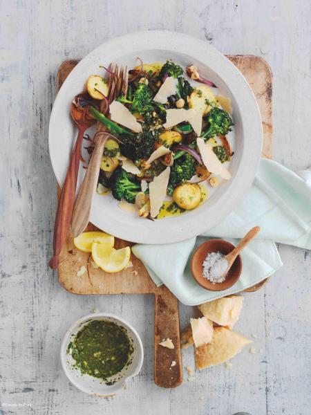 Parmigiano Reggiano salade brocolis parmesan _c2i