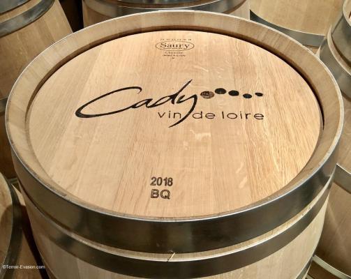 Domaine Cady rosé fut bois_c2i