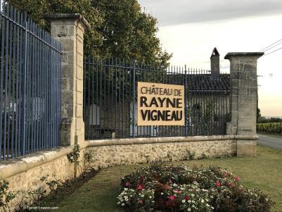 Chateau Rayne Vigneau entrée_c2i