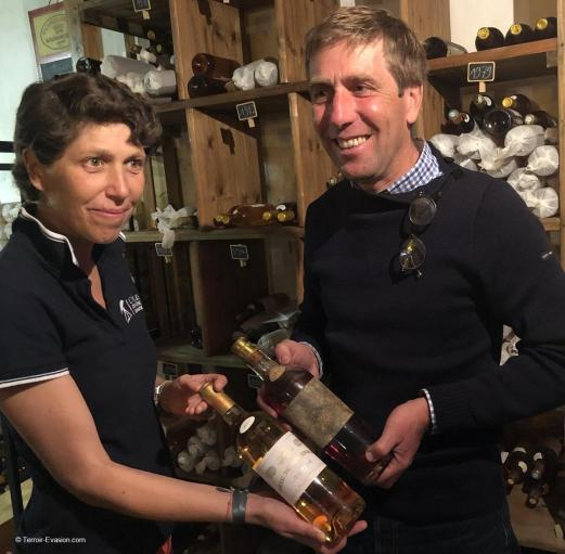 Vinsliquoreux de Bordeaux - Châteaux Darriet Rondillon et un Millésime 1937