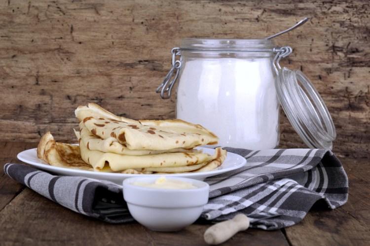 crêpes beurre sucre
