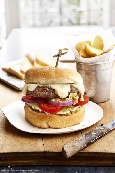 Hamburger Raclette de Savoie