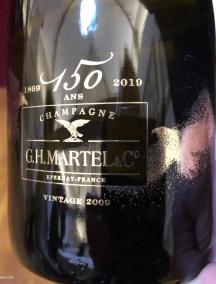G.H Martel Champagne