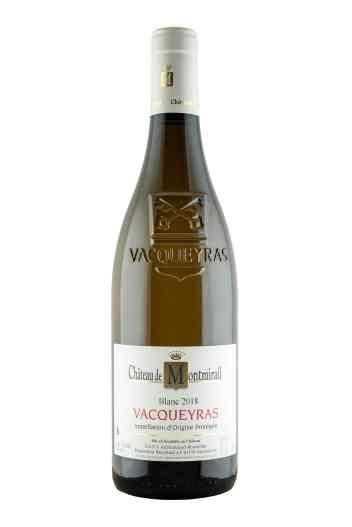 Vins blancs _ VACQUEYRAS_ Château de Montmirail