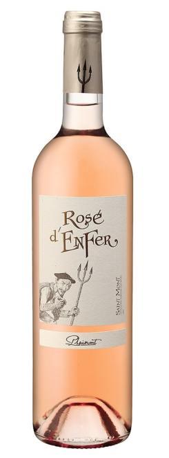 Vins rosés à prix doux - Rosé d'Enfer 2018 - Saint Mont - Vignerons du Plaimont