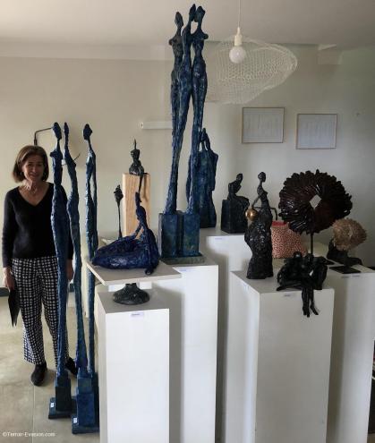 Domaine de l'Odylée - Sculpture- Béatrice Brechignac
