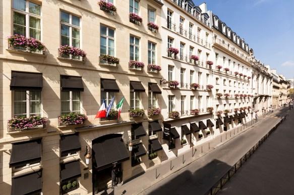 Hotel Castille Collezione Paris facade