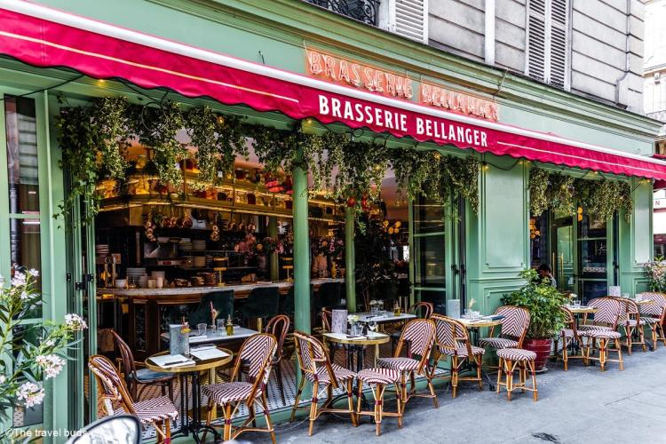 Brasserie Bellanger -Terrasse