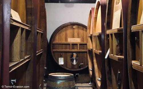 Champagne J.Charpentier - Foudres en bois