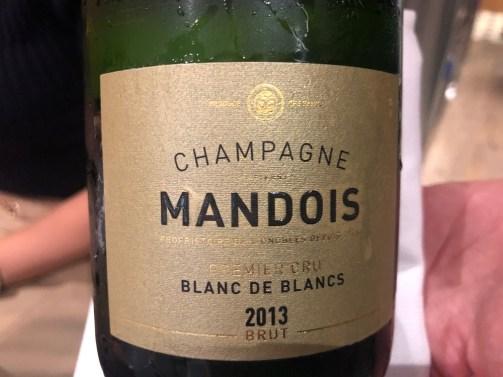 Champagne Mandois à Pierry - Cuvée Blanc de Blancs brut Premier cru 2013