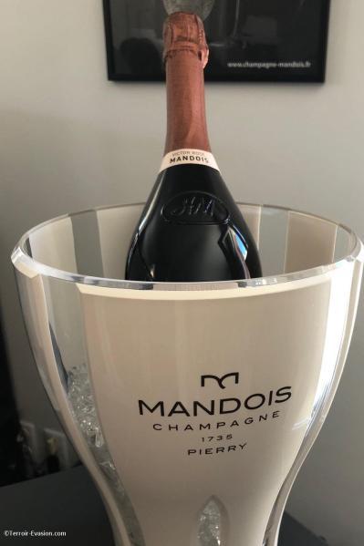 Champagne Mandois à Pierry - Cuvée Victor Mandois