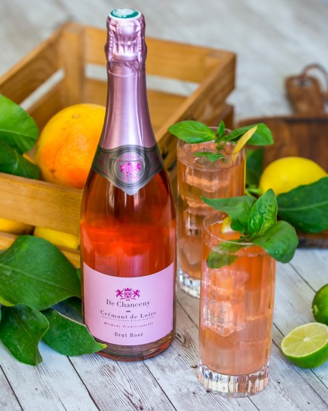 De Chanceny Crémant de Loire - Cocktail Lychee Spritzer