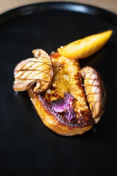 Foie Gras de canard des Landes poêlé aux cèpes