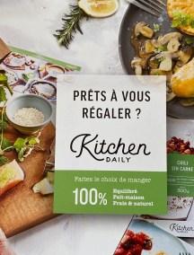 Kitchen Daily facilite votre quotidien Livraison à domicile