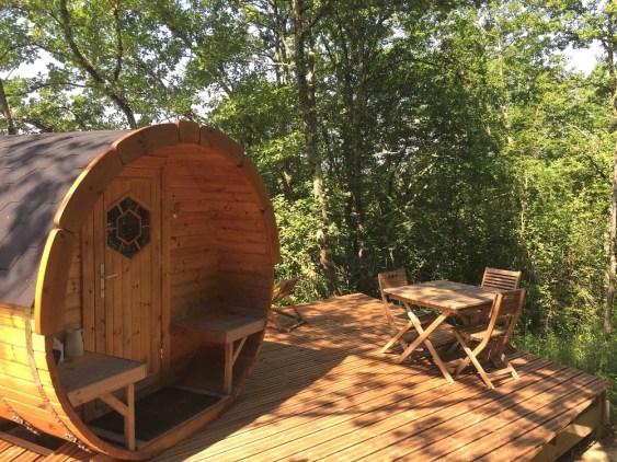Pitchup.com pour réserver des vacances- Cabanes de Romaningue