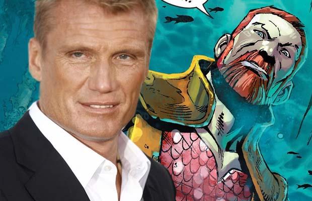 Dolph Lundgren será el villano Nereus en 'Aquaman'