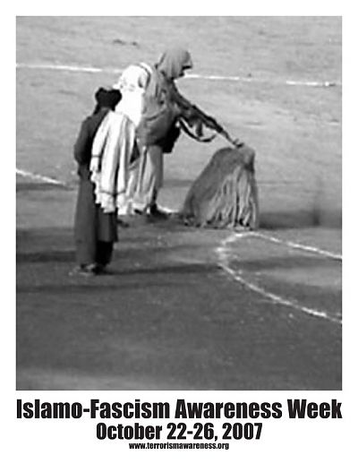 Islamo Fascism Awareness Week Flyer