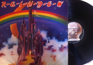 'Ritchie Blackmore's Rainbow' with the Oyster imprint.