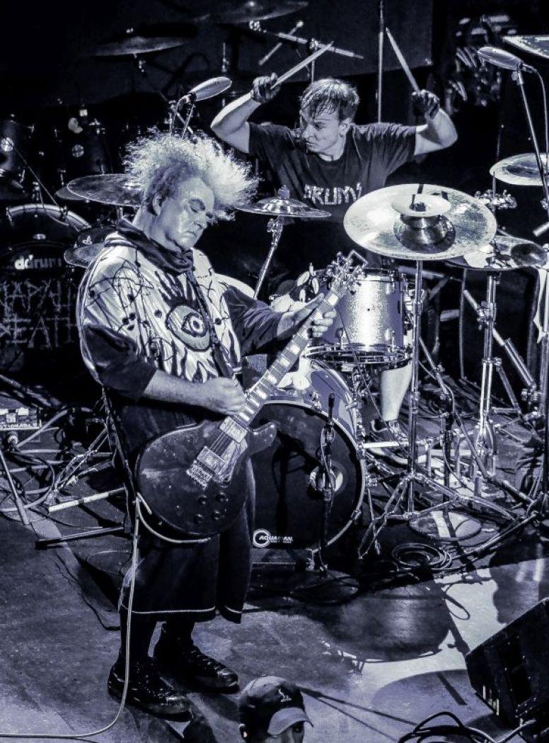 Buzz Osborne and Dale Crover of Melvins- Metro Chicago - Terrorizer