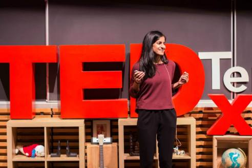 Aliya Dossa at TEDx Terry Talks 2014 | Photo by Sruthi Sreedhar