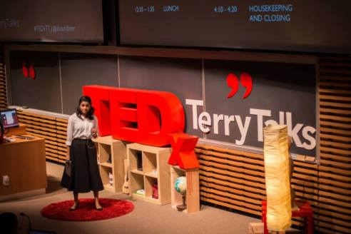 Abeer Yusuf at TEDx Terry Talks 2014 | Photo by Sruthi Sreedhar