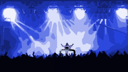Historymaker is full of electronic dance music.(Graphic by Talal Al Salem/The Terry Project)