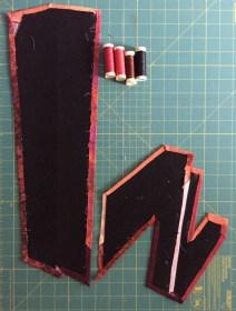 fabric-fused-and-glued-to-black-felt