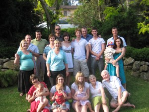 My family - Christmas 2008