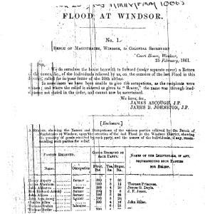 windsor floods