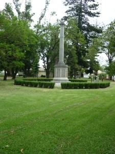 Singleton Cenotaph, Burdekin Park