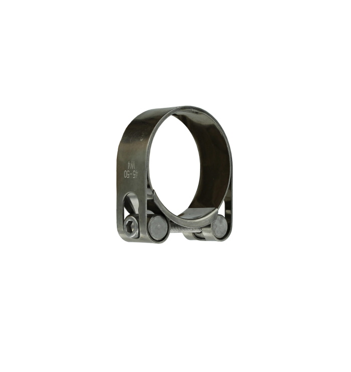 stainless steel hd exhaust clamp 45 50mm 1 7 8