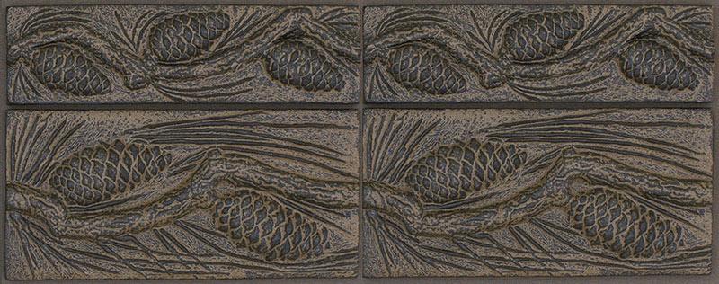 The Pinecone Tiles Terry Tiles